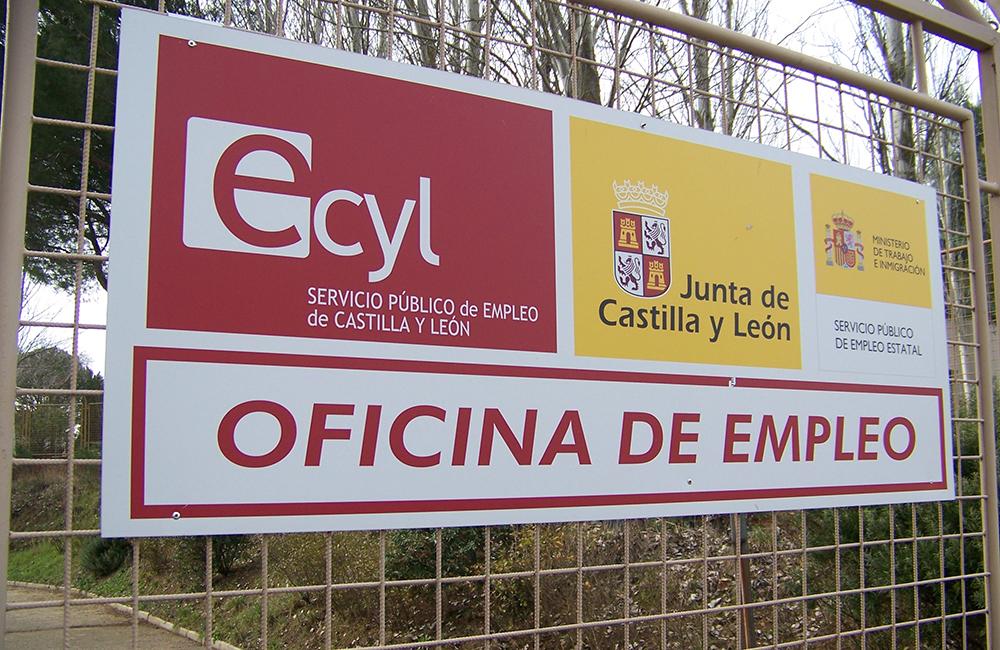 Las oficias del ecyl se quedan sin seguridad for Oficina empleo salamanca